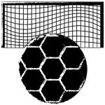 minge de fotbal si poarta