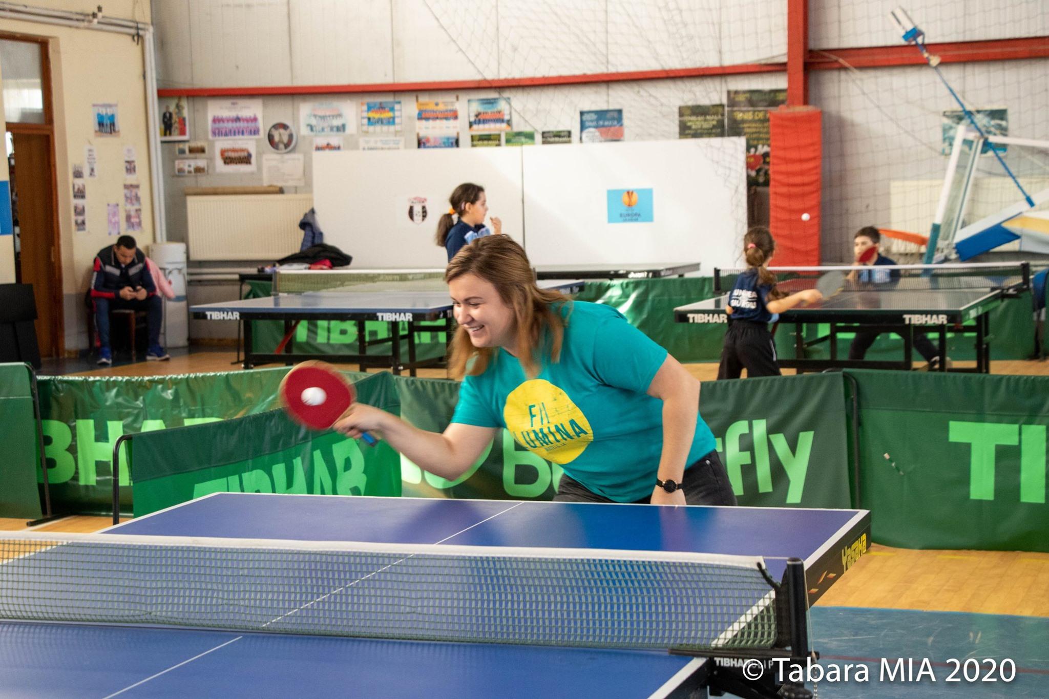 turnee sportive ping pong