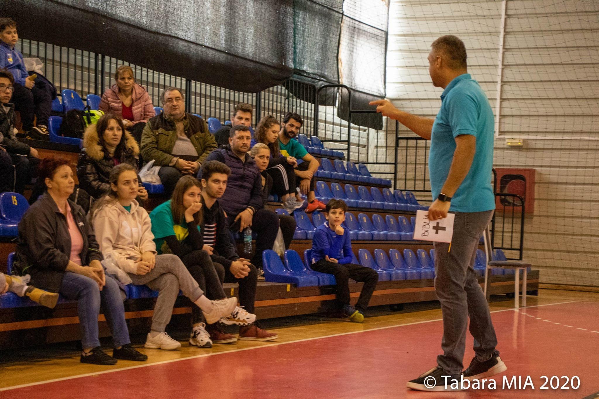sport evanghelizare tineri